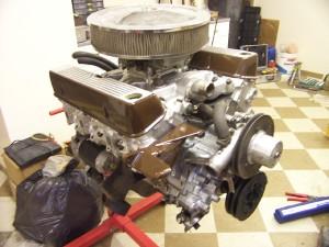 V8 Conversion Of A Scimitar Gte Se6