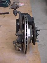 Scimitar 4 pot caliper and vented disc conversion