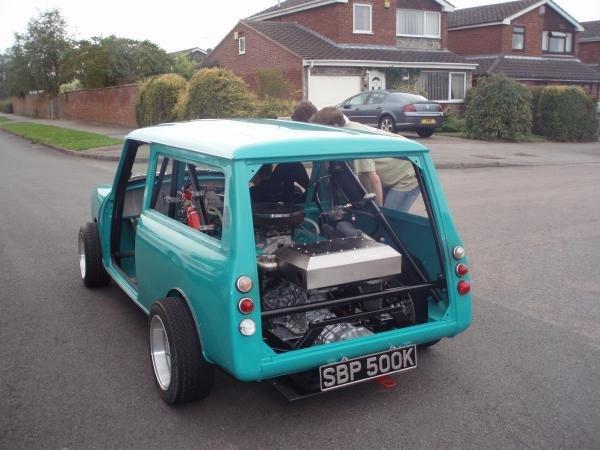 Rover V8 45 Ltr 1972 Mini Clubman Estate